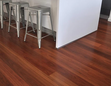 HMWalk - Ironbark timber floor